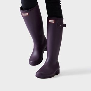 Hunter Original Tall Aubergine (Purple) 8